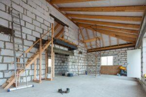 Grundstückshandel kann auch schon bei einem Erweiterungsbau entstehen.